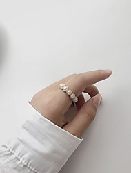 cheap -Multi Finger Ring Pearl Gold Imitation Pearl Alloy Trendy Korean Sweet 1pc Index Finger / Women's