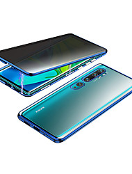 cheap -Case For Xiaomi Xiaomi CC9 Pro Mi Note 10 Lite Shockproof Transparent Full Body Cases Transparent Tempered Glass Metal