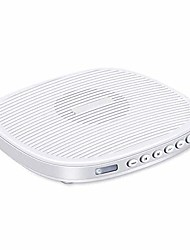 cheap -white noise machine, portable sleep sound therapy machine with 20 soothing sound and sleep timer for adults - white, white
