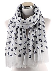 cheap -Women's Active Rectangle Scarf - Graphic Washable