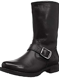 cheap -amazon brand - women's brinnon moto boot, black, 7.5 b us