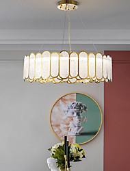 cheap -60 cm Pendant Light Chandelier Valued Luxury Gold Glass Metal Modern 110-120V 220-240V