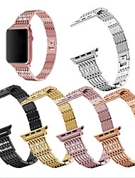cheap -High Quality Metal Watch Bracelet for Iwatch 4 5 Band 44mm 40mm Replacement Fullmetal Diamond Strap for Apple Watch Series 5/4/3/2/1