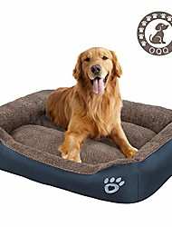 cheap -pet dog bed | therapeutic sofa-style traditional living room comfy pet bed/removable cover for dogs & cats - available in multiple colors & styles