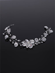 cheap -Crystal / Paillette / Alloy Headdress with Crystal / Paillette 1 Piece Wedding Headpiece