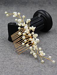 cheap -Modern Euramerican Imitation Pearl / Alloy Headpiece / Hair Accessory with Pearl / Petal 1 PC Wedding / Party / Evening Headpiece