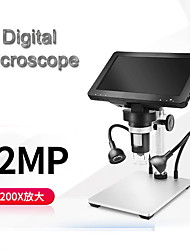 cheap -7 large screen wire control hd digital microscope electron microscope maintenance microscope
