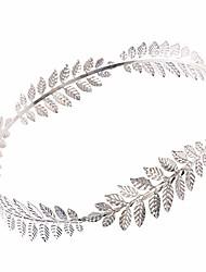 cheap -roman emperor crown laurel wreath sliver leaf headband, silver, size one size