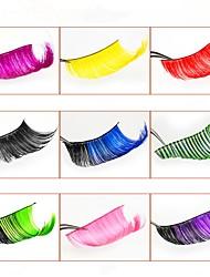 cheap -Hand-made Exaggerated Long Color False Eyelashes Halloween Cosplay Masquerade Long Eyelashes