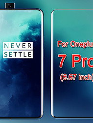cheap -5PCS Protective Glass Case for Oneplus 7 Pro Tempered Glass Full Cover Screen Protector Film