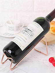 cheap -Wine Rack Red Wine Beer Holder Simple Electroplating Craft 1 Pc