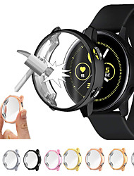 cheap -Screen Protector Case For Samsung galaxy watch active case cover bumper Screen Protector Full coverage silicone Protection