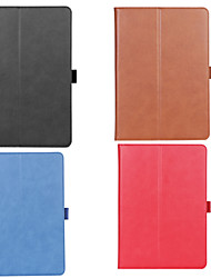 cheap -Case For Apple iPad Pro (2020) 12.9'' Wallet / Card Holder / Shockproof Full Body Cases Solid Colored PU Leather