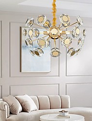 cheap -50 cm Globe Design Chandelier Luxury Gold Crystal Metal Modern 110-120V 220-240V