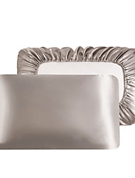 cheap -Luxury Satin Pillowcase for Hair Standard Satin Pillowcase with Elastic Band, Pillowcase Set of 2