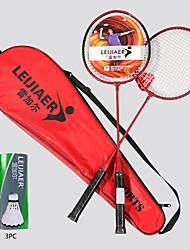 cheap -1001 Badminton Rackets One-piece Suit Aluminum Alloy / Fiber Shock Absorption / Durable 2* badminton rackets 1* storage bag Indoor Outdoor