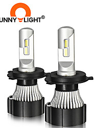 cheap -CNSUNNYLIGHT 2PCS  H1 H3 H7 H8/H9/H11 9005/HB3 9006/HB4 9012/HIR2 D Canbus LED Motorcycle Headlight Bulbs 8000Lm Hi/Lo Lamp For Yamaha Moto-Styling Lights Accessories