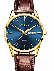 cheap -men brown leather watch,men dress watch casual fashion quartz analog wrist watch,date day watches for men,waterproof rose gold man watch,stainless steel leather blue dial watches luminous