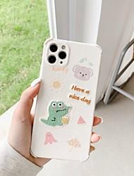 billige -etui til iphone 11 mønster bagcover dyr tegneserie tpu etui til iphone 11 pro max / se2020 / xs max / xr xs 7/8 7/8 plus