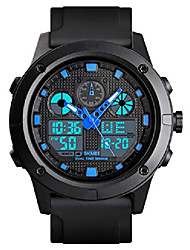 cheap -mens digital watch outdoor sports watch multifunctional chronograph 50m waterproof stop watch