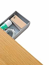 cheap -self stick underdesk hanging organizer pencil drawer, unique desk organizer provides under desk storage for pens, pencils, phone, paper clips & more& #40;grey& #41;