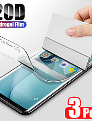 cheap -3PCS Hydrogel Film For Samsung Galaxy S20 S20 S20 Ultra S9 S10 Plus Screen Protector For Samsung Galaxy S10 S9 S10 lite S7 Edge Film Not Glas