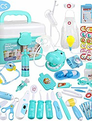 cheap -toy doctor kit for kids 44pcs doctor pretend play equipment stethoscope medical role play educational toy doctor playset for toddler boys girls