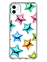 cheap -Star Graphic Design Case For Apple iPhone 12 iPhone 12 Mini iPhone 12 Pro Max Unique Design Shockproof Back Cover TPU