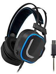 cheap -LITBest magic v10 Gaming Headset USB Wired with Microphone with Volume Control Sweatproof for Gaming