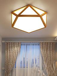 cheap -42 cm Ceiling Light Nordic Style Led Simple Wood Modern Room Light