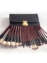 cheap -26 Pcs makeup brushes set High-end pear wood animal hair makeup brush set makeup tools micro-business hot sale wholesale