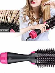 cheap -one step hair dryer volumizer styler,  3 in 1 hot air hair dryer brush negative ion curly straightening comb, 3 temperatures & 2 speeds,110/220v (a1)