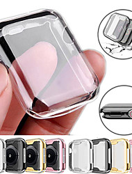cheap -360 Slim Watch Cover for Apple Watch Case 6 SE 5 4 3 2 1 42MM 38MM Soft Clear TPU Screen Protector for iWatch 4 3 44MM 40MM