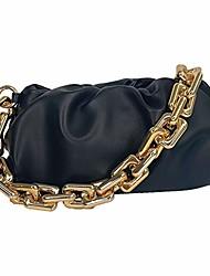 cheap -cloud bag dumpling shoulder bag chunky chain pouch bag