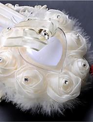 cheap -Classic Theme Ring Pillow Ring 53 Ruffle Plastic 1pc