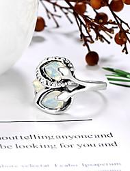 cheap -Ring Stone Briolette Silver Stone Alloy Pear Vintage European Fashion 1pc 8 9 10 11
