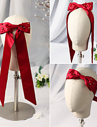 cheap -Chinese Style Headpieces Other Headpiece with Bowknot / Ribbon Tie 1 Piece Wedding Headpiece