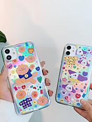 billige -etui til apple iphone 11 stødsikker / støvtæt bagcover dyr / tegneserie tpu til etui iphone 11 pro / 11 pro max / 7/8 / 7p / 8p / se 2020 / x / xs / xs max / xr