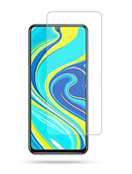 cheap -Xiaomi Screen Protector Redmi Note 9S Note 9 Pro Note 9 Pro Max High Definition (HD) Front Screen Protector 1 pc Tempered Glass