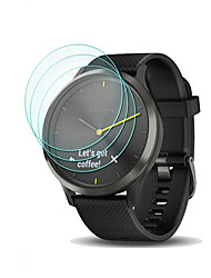 cheap -3Pcs For Garmin Vivomove HR / Vivomove Tempered Glass Screen Protector 9H Hardness