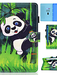 cheap -Phone Case For Samsung Galaxy Full Body Case Samsung Galaxy Tab S7 T870/875 Samsung Galaxy Tab A7 2020 T500/505 Card Holder Flip Magnetic Tree Animal PU Leather