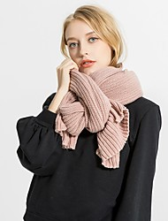 cheap -Women's Active Rectangle Scarf - Solid Colored Breathable