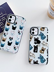 cheap -Case For Apple iPhone XR / iPhone XS Max / iPhone 6s Plus Shockproof Back Cover Animal TPU