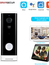 cheap -1080P Tuya Smart Wifi Doorbell Camera Ring Door Bell App Intercom Motion Detector Night Vision Security Camera
