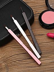 cheap -Beauty Lip Brush Retractable Lipstick Brush Beginner Lipstick Lip Gloss Brush Concealer With Cover Portable Makeup Tool