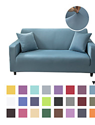 cheap -Solid Color Microfiber High Stretch Sofa Slipcover – Spandex Soft Fitted Sofa Couch Cover Washable Furniture Protector with Elastic Bottom for Kids,Pet