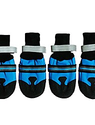cheap -dog boots waterproof paw protectors for large dogs (pack of 4)