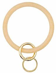 cheap -key ring bracelet wristlet keychain bangle - super soft glitter silicone - o ring keychain gold