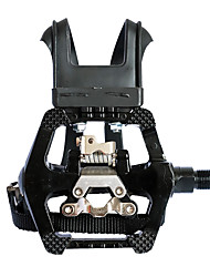 """cheap -spd pedals - hybrid pedal with toe clip and straps, suitable for spin bike, indoor exercise bikes and all indoor bike with 9/16"""" axles"""