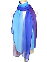 cheap -Women's Active Rectangle Scarf - Color Block Washable